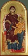 2.16. Madre di Dio in trono