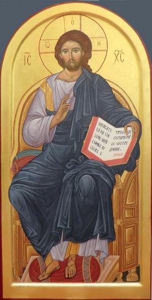 1.06. Cristo in trono