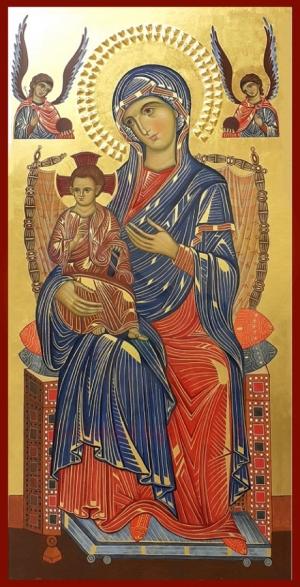 2.11 Madre di Dio in trono con Bambino