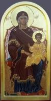 2.20. Madre di Dio in trono