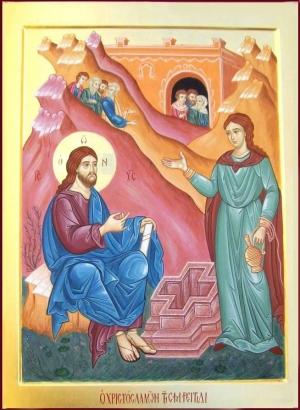 5.05. Cristo parla con la Samaritana